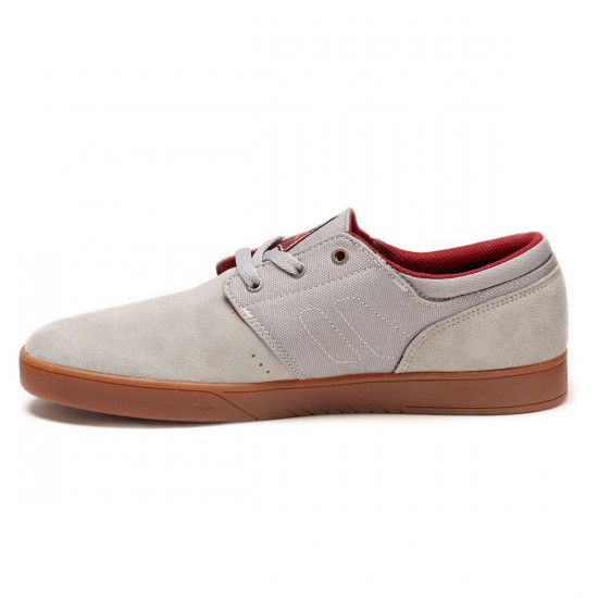 Emerica The Figueroa Shoes - Grey/Gum - 9.0