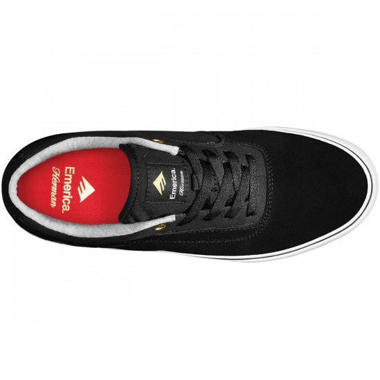Emerica The Herman G6 Vulc Shoes - Black/White - 10.0
