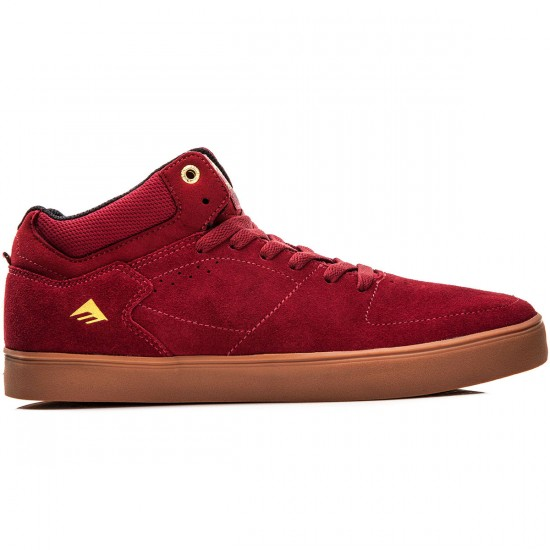Emerica The Hsu G6 Shoes - Burgundy/Gum - 10.0