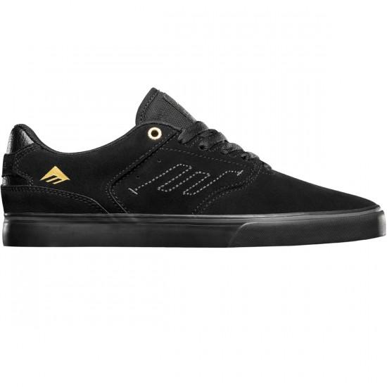 Emerica The Reynolds Low Vulc Shoes - Black/Black - 8.0