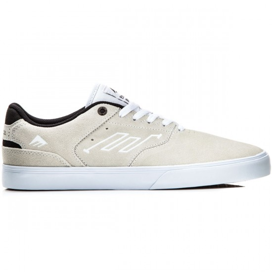 Emerica The Reynolds Low Vulc Shoes - White/Black - 10.0