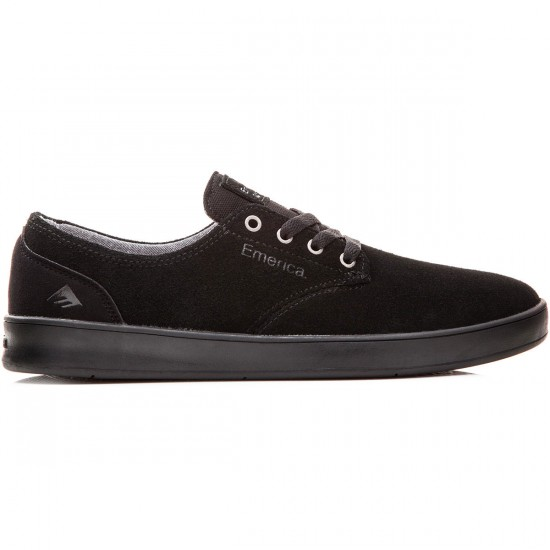 Emerica The Romero Laced Shoes - Black/Black/Black - 8.0