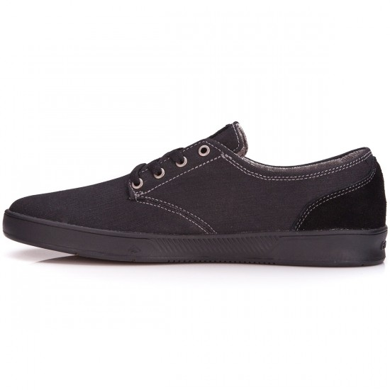 Emerica The Romero Laced Shoes - Black/Black/Gum - 6.0