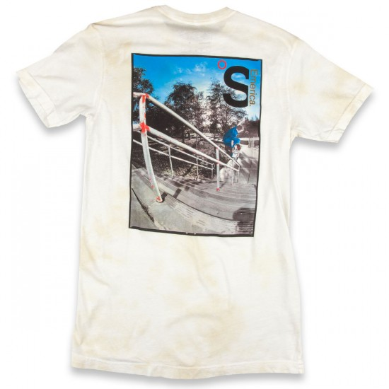 Emerica The Skateboard Mag X Herman T-Shirt - White