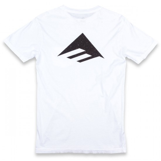Emerica Triangle Back Hit T-Shirt - White