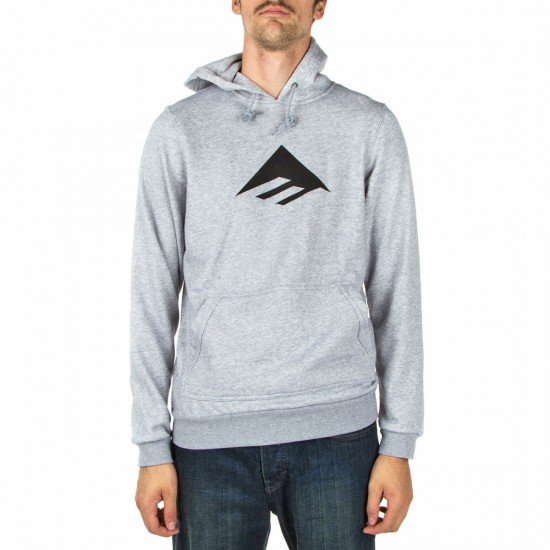 Emerica Triangle Pull Over Hoodie - Grey