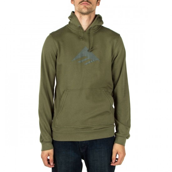 Emerica Triangle Pull Over Hoodie - Olive