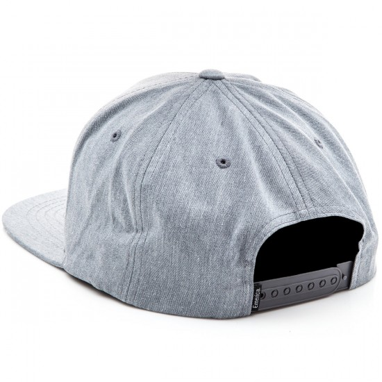 Emerica Triangle Snapback Hat - Grey/Heather