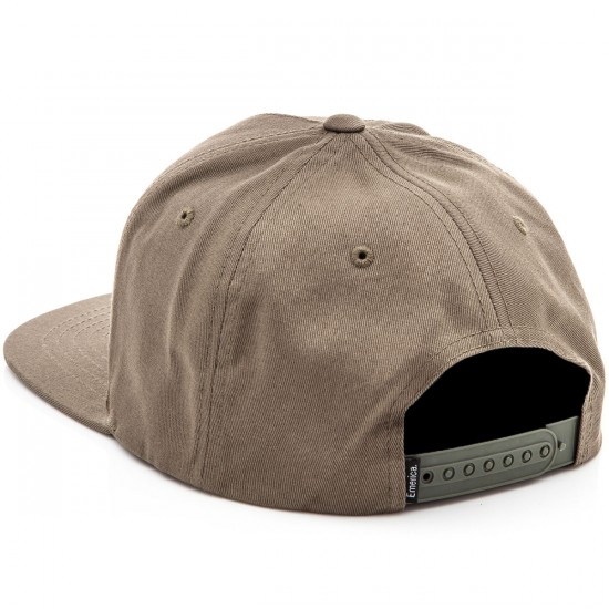 Emerica Triangle Snapback Hat - Olive