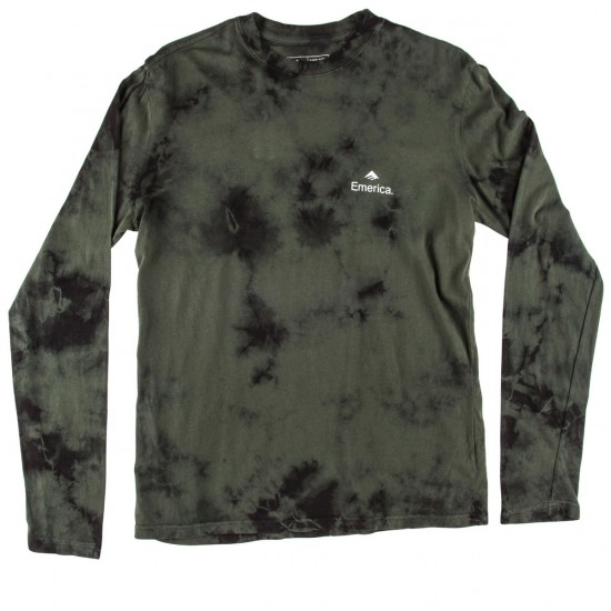 Emerica X Indy Long Sleeve T-Shirt - Dark Green