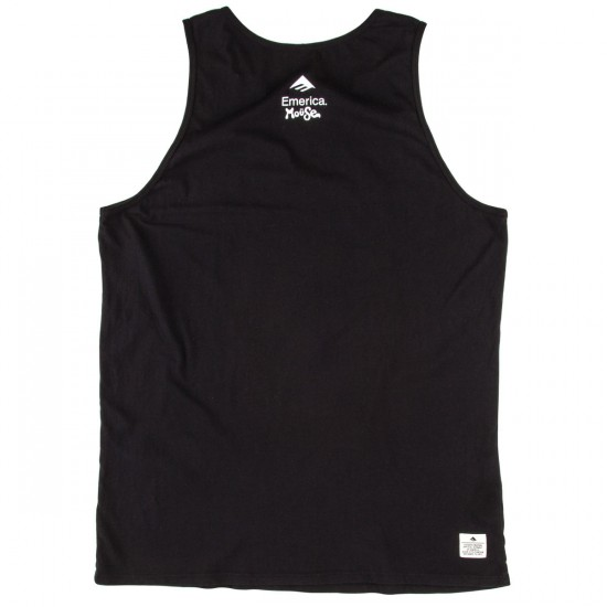 Emerica X Mouse Chief Dog Tank Top - Black