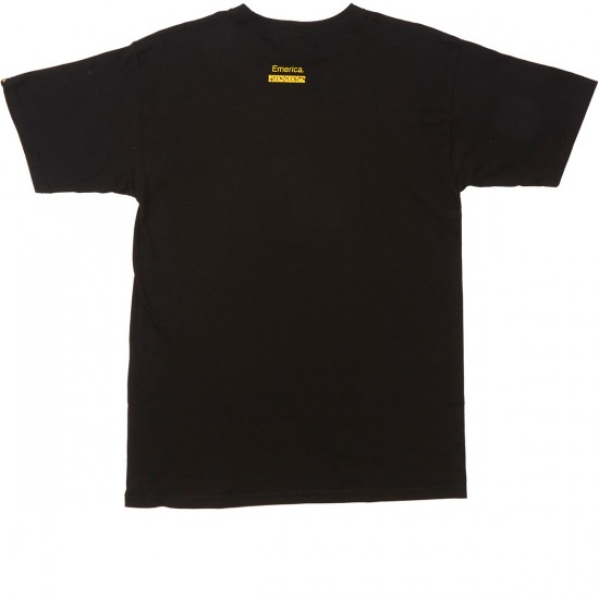 Emerica X Psockadelic T-Shirt - Black