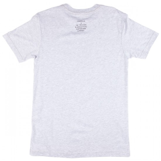 Emerica X Toy Machine Demoncat T-Shirt - Grey