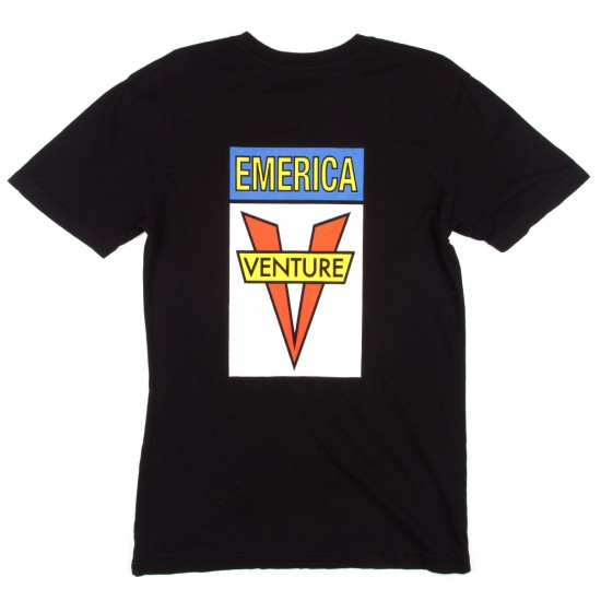 Emerica X Venture T-Shirt - Black