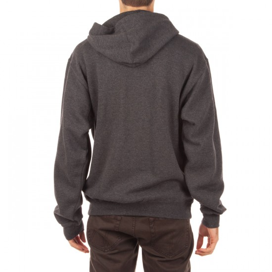 Enjoi Panda LogoZip Hoodie - Charcoal Heather