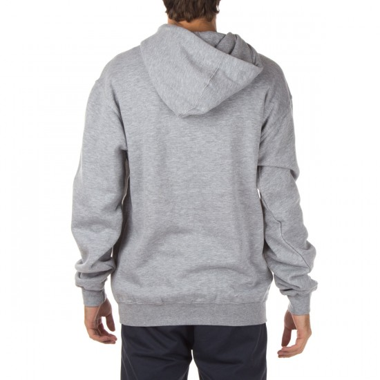 Enjoi Skate and Enjoi Pullover Hoodie - Heather Grey