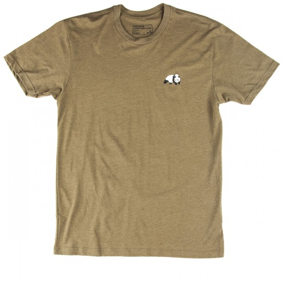 Enjoi Small Panda Logo T-Shirt - Military Green