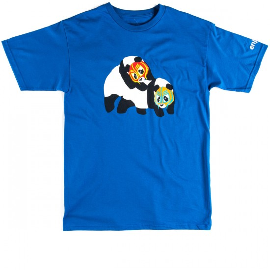 Enjoi Wrestling Panda T-Shirt - Royal