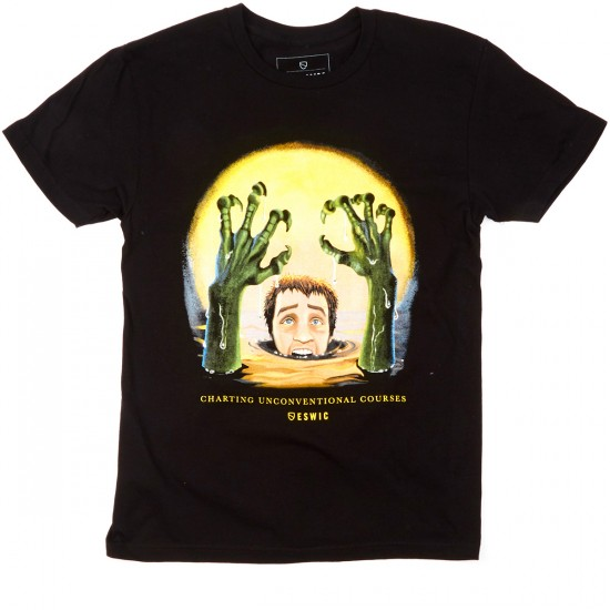 Eswic Creepy Fingers T-Shirt - Black