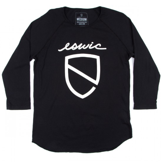 Eswic Icon 3/4 Raglan Shirt - Black