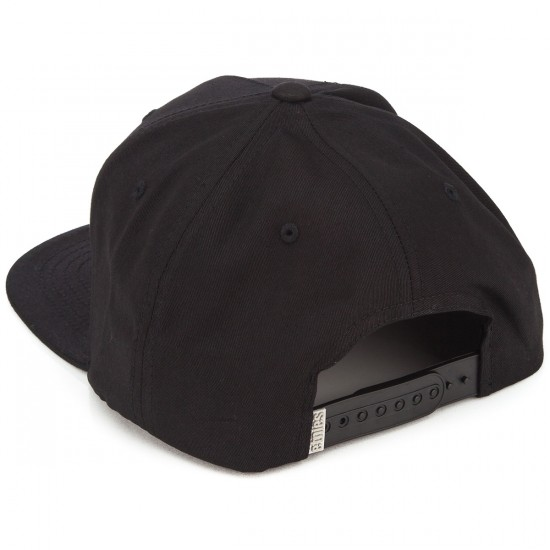 Etnies Corporate 5 Snapback Hat - Black