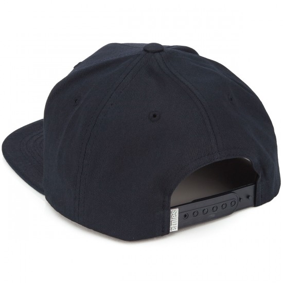Etnies Corporate 5 Snapback Hat - Navy