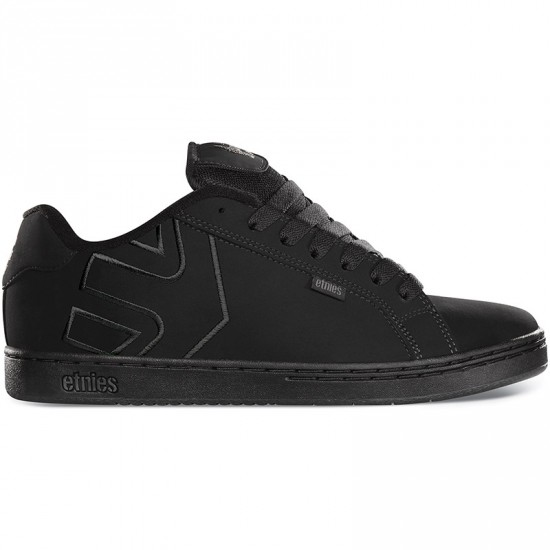 Etnies Fader Shoes - Black/Dirty Wash