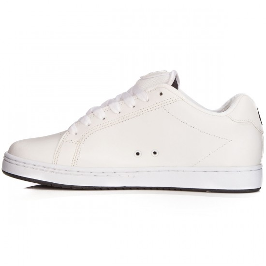 Etnies Fader Shoes - White/White/White - 6.0