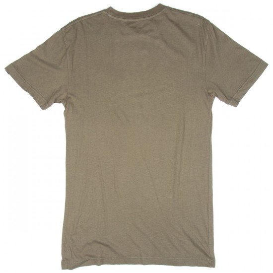 Etnies Geo Pattern Corporate T-Shirt - Olive