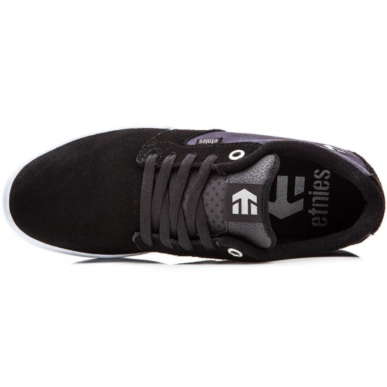 Etnies Jameson E-Lite Shoes - Black/Navy - 10.0