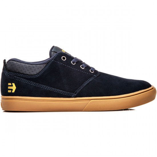 Etnies Jameson MT Shoes - Navy/Gum/Gold - 8.0