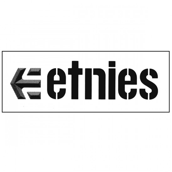 Etnies Logo Sticker 2015 - 4in