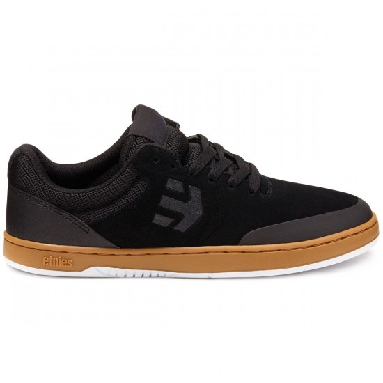 Etnies Marana Shoes - Black/Gum / White - 8.0