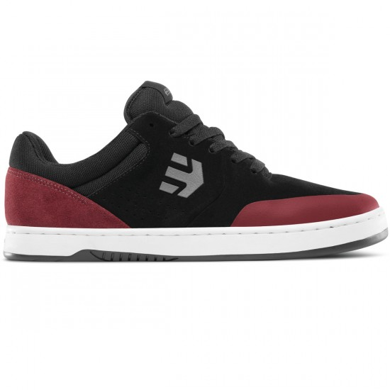 Etnies Marana Michelin Shoes - Black/Red/Grey - 8.0