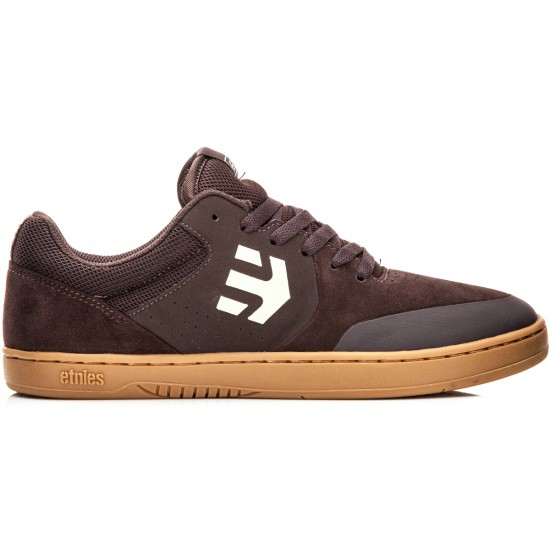Etnies Marana Shoes - Brown/Brown Gum - 10.0