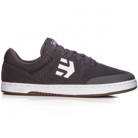 Etnies Marana Shoes - Dark Grey/White/Gum - 7.5