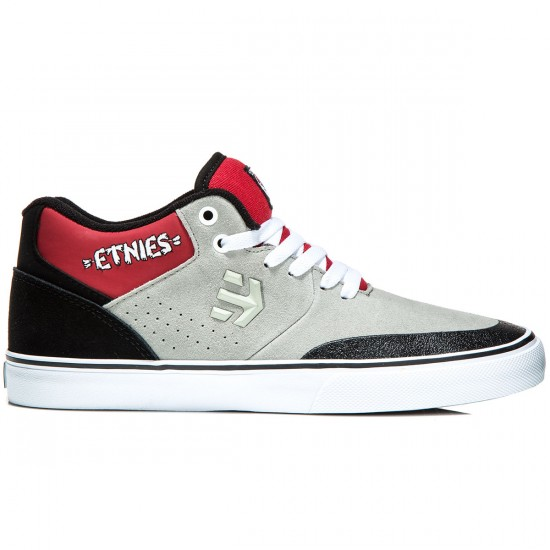 Etnies Marana Vulc MT Shoes - Grey/Black/Red - 8.0
