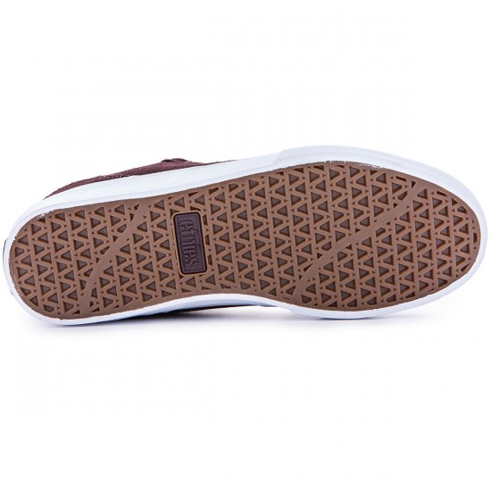 Etnies Marana Vulc Shoes - Brown/White/Gum - 12.0
