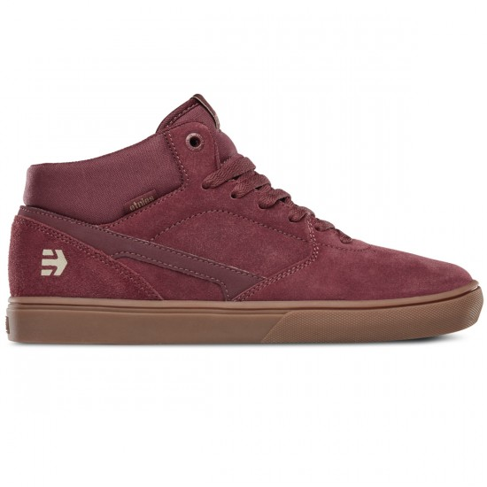 Etnies Rap CM Shoes - Burgundy/Gum - 10.0