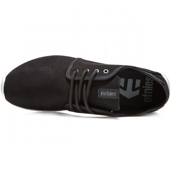 Etnies Scout Shoes - Black/Dark Grey - 8.0