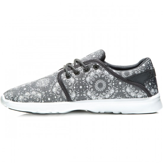 Etnies Scout Shoes - Dark Grey/White - 8.0