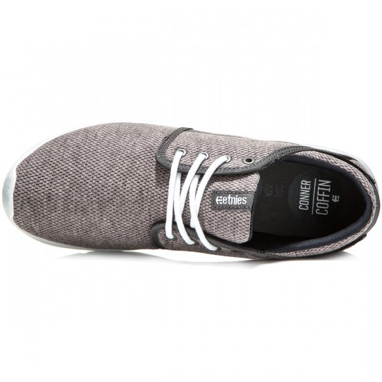 Etnies Scout Shoes - Grey/White/Navy - 8.0