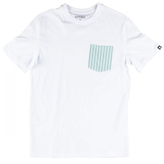 Etnies Service Pocket T-Shirt - White