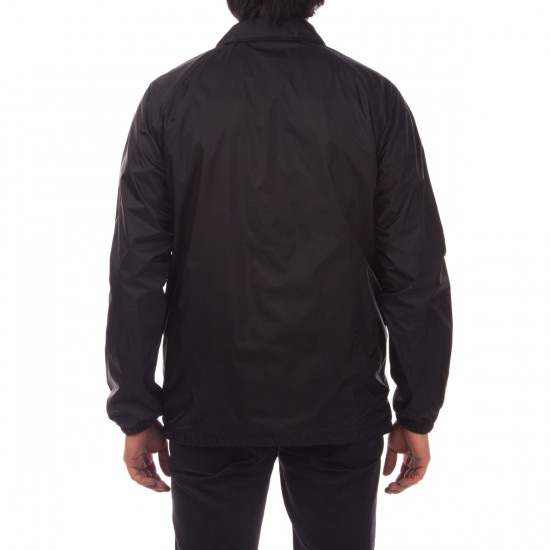 Everybody Skates Smith Grind Coaches Jacket - Black