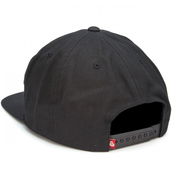 Expedition Brawler Snapback Hat - Black