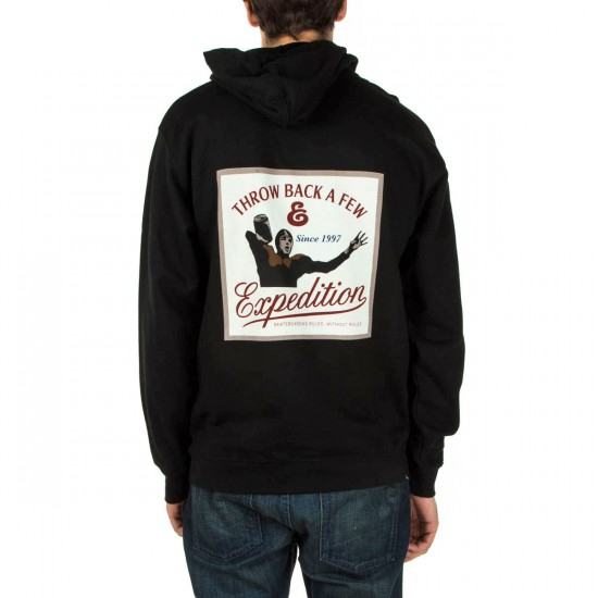 Expedition One Rules Fleece Hoodie - Black