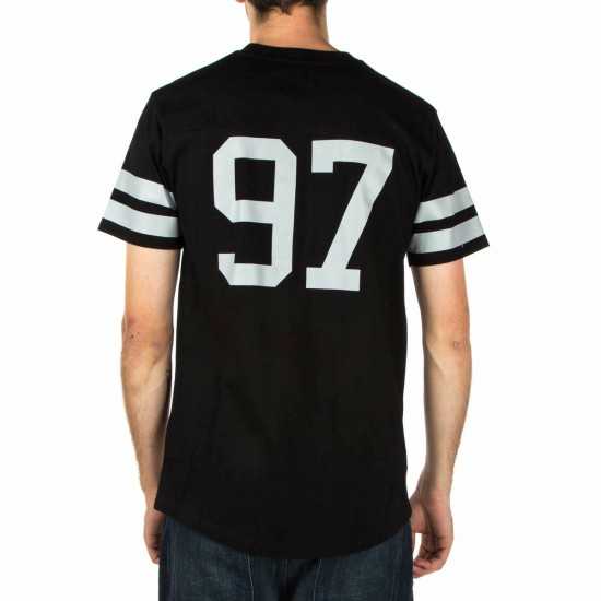 Expedition One Throw It Back Custom Jersey Shirt - Black