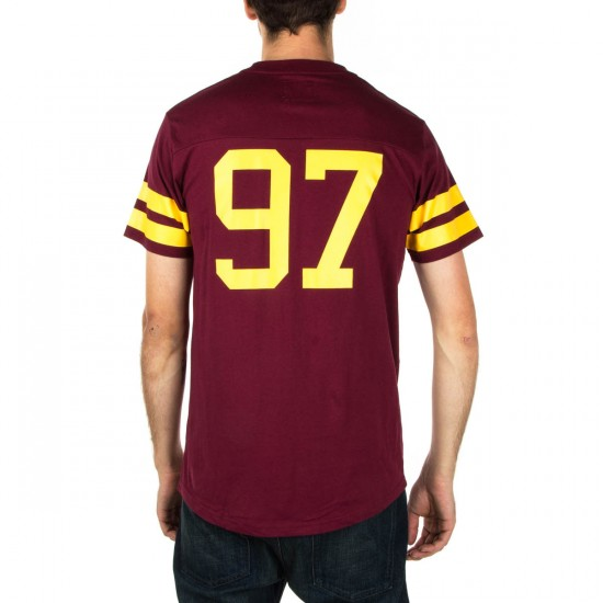 Expedition One Throw It Back Custom Jersey Shirt - Maroon