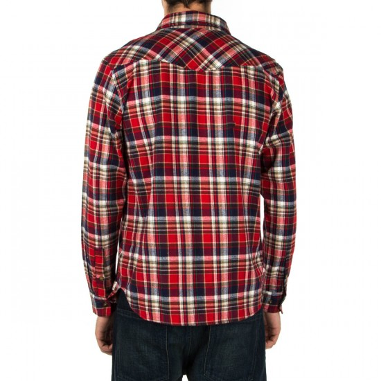 Expedition One Victory Custom Flannel Shirt - Red