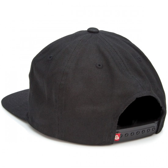 Expedition Puck Off Snapback Hat - Black